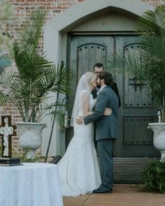 """""""You may kiss the bride.""""...at Pierce Castle in Decatur, Mississippi--Mississippi's Premiere Wedding and Event Venue. Photo by Jennifer Elisha Photography."""