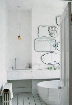 Salle de bains romantique par Elle Decor Royaume-Uni Je Remodelista