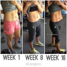 Clean eating & lifting weights.  16 week an progress!