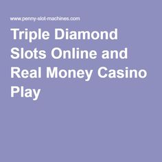 Shadow Diamond Slots Online & Real Money Casino Play