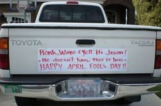 17 Last-Minute April Fools Pranks You Need To Know. #7 Is Brutal… - http://www.lifebuzz.com/april-fools/