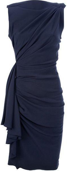 Stylish Black Fitted Dress