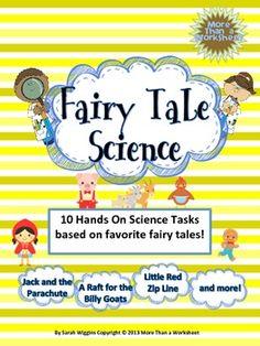 Fairy Tale Science--a STEM Mega Bundle!