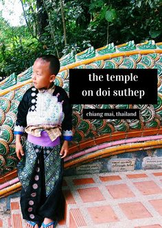 Thailand Travel Tips l Visiting the Temple on Doi Suthep in Chiang Mai, Thailand (Wat Phra That Doi Suthep) l Thailand Travel Tips, Chiang Mai Thailand, Southeast Asia, Green And Gold, Temple, Memories, Mountains, Projects, Life