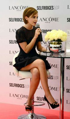 Emma Watson looking leggy and beautiful!!