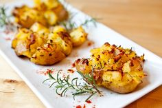 Crash Hot Potatoes. Seriously the best potato side dish EVER
