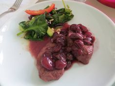 September 2014 Concord Grapes: Pork Tenderloin with Grape Sauce by Yvonne