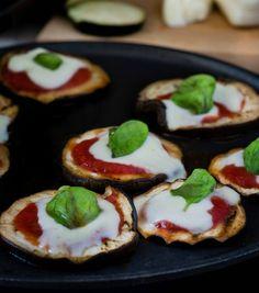 Pizzette+di+melanzane+-+Cottura+senza+forno