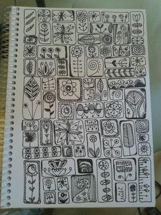 Zentangle Drawings, Doodles Zentangles, Zentangle Patterns, Doodle Drawings, Cute Drawings, Zen Doodle, Doodle Art, Stippling Drawing, Tangle Art