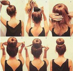 52 idées coiffure à faire en 10 minutes pour les filles aux cheveux longs – Astuces de filles