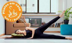 Queridinho das celebridades como Isis Valverde, Carolina Dieckmann e Angélica, o pilates envolve flexibilidade, força e ajuda a deixar com o corpo durinho. Com a série a seguir você aprende os movimentos para fazer em casa e fortalecer o bumbum.