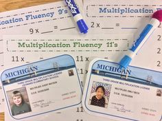 Multiplication Fluency in Minutes a Day Ani: See files saved on Mac with Multiplication Masters Directions and Incentive Chart