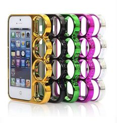 Brass Knuckle Case For iPhone 5, 5S in Assorted Colors (FREE SHIPPING!) from Cool Mobile Accessories