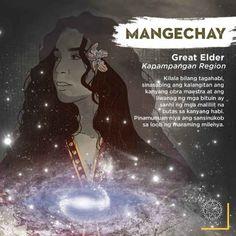 """Mangechay 'Great Elder"""" Kapampangan Region - The Philippines Today Korean Mythology, Philippine Mythology, Philippine Art, World Mythology, Filipino Words, Filipino Art, Filipino Culture, Mythological Creatures, Mythical Creatures"""