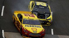 "MATT KENSETH VS. JOEY LOGANO  -    Logano came into Martinsville with a three-race winning streak, including Kansas Speedway, where he dumped Kenseth to win, starting a huge furor that included NASCAR CEO Brian France calling Logano's race-winning move ""quintessential NASCAR."" But when Logano's teammate, Brad Keselowski, wrecked Kenseth...  MORE...  8 memorable NASCAR confrontations at Martinsville  -  March 29, 2017:"