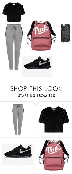 """""""Untitled #8"""" by faith12485 on Polyvore featuring NIKE and Victoria's Secret"""