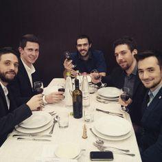 Sabato 7 febbraio 2015 - ph Nicolò Mattioli  Enrico Sartori, Nicola Sandini, Francesco Viero e Dennis Mine