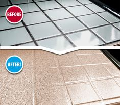 tiles Countertops Tired of scrubbing your tile grout? Our surface refinishing process completely seals your EXISTING tile and grout lines making the surface easy to clean. Now that's a beautiful solution!