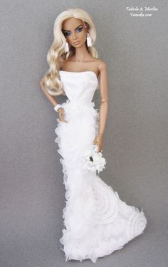 Bridal  Fashion for  Fashion Royalty Doll & Silkstone Barbie