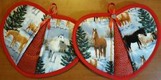 Check out this item in my Etsy shop https://www.etsy.com/listing/478030905/christmas-horses-handy-heart-potholders