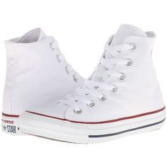 Converse Chuck Taylor All Star Core Hi Classic Shoes ($55) ❤ liked on  Polyvore · White High Top ...