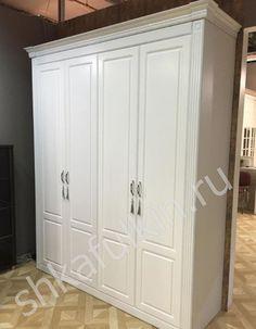 Шкаф в классическом стиле от фабрики www.shkafulkin.ru