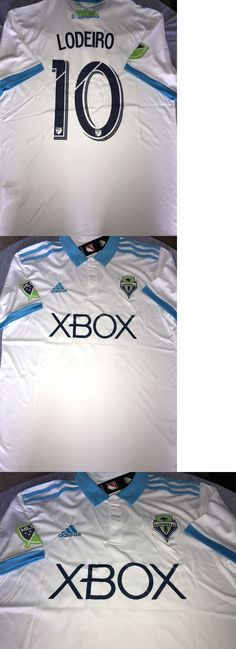 Soccer-MLS 2888: Seattle Sounders Lodeiro 2017 Official Away Jersey Size S,M,L Or Xl .. 25% Off! -> BUY IT NOW ONLY: $42.99 on eBay!
