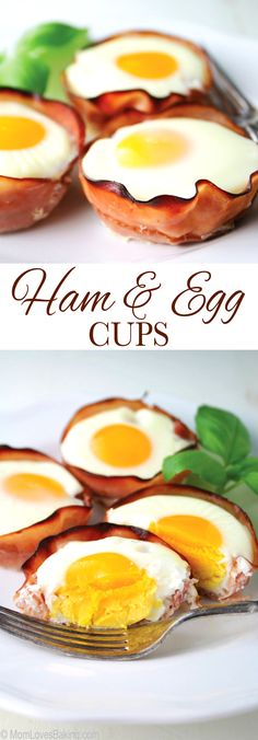 Rise & shine! Ham & Egg Cups for breakfast! #yum #OscarMayerNatural #sponsored