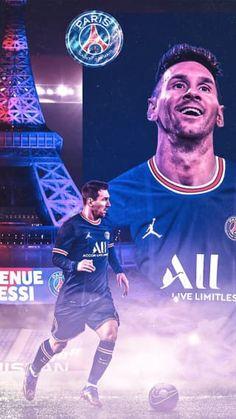 Messi Psg, Messi And Ronaldo, Neymar Jr, Lionel Messi Wallpapers, Lionel Messi Barcelona, Football Wallpaper, Superhero, Soccer Stuff, Paris Saint
