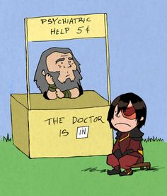 Uncle Iroh's Psychiatric Care Stand