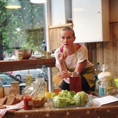 Gøy å være på kurs med dronningen av fermentering @gryhammer hos @ektevaredagligvare! Nye tips og triks er aldri dumt å lære