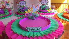 DECORACIONES INFANTILES: octubre 2012 Tinkerbell Party, Projects To Try, Birthday Cake, Ideas Cumpleaños, Party Ideas, Things To Sell, Tinker Bell, Ideas, Fiestas