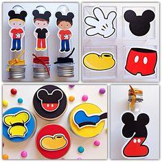 Kit Festa Premium 3D - Mickey