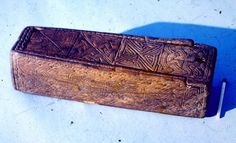 Viking  Age carved wooden box from Dublin