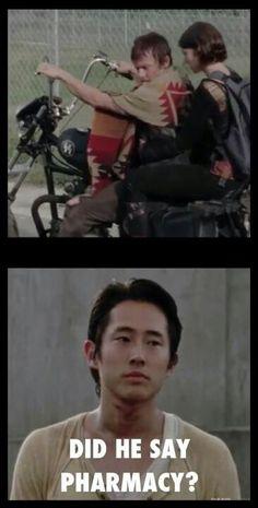 {Walking Dead} Sorry Glen, you knew it was gonna happen:)