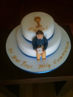 Dan's communion cake by Sweet Obsessions, via Flickr