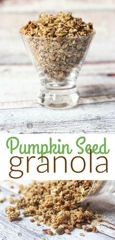 Pumpkin seed granola recipe from Better in Bulk