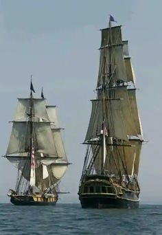 'Master and Commander' Tall Ships. Poder Naval, Moby Dick, Hms Bounty, Grands Lacs, Old Sailing Ships, Model Sailing Ships, Ship Of The Line, Wooden Ship, Wooden Boats