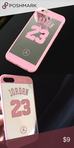 NEW 6/6s Jordan Mirror Case For iPhone 6 or 6s. Jordan mirror case soft cover Accessories Phone Cases