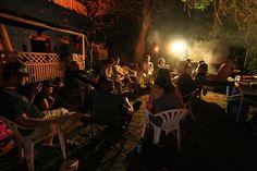 Summer night at the hostel