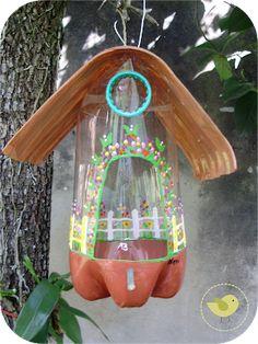 Pet bottle ideas bird feeders 42 Ideas for 2019 Animal Art Projects, Cool Art Projects, Projects For Kids, Craft Projects, Animal Crafts, Homemade Bird Houses, Homemade Bird Feeders, Kids Crafts, Diy And Crafts