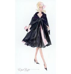 Looking for Collectible Barbie Dolls? Shop the best assortment of rare Barbie dolls and accessories for collectors right now at the official Barbie website! Fashion Prints, Fashion Art, Vintage Fashion, Fashion Design, Vintage Barbie, Moda Fashion, Fashion Dolls, Vintage Magazine, Pin Up