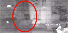 This footage was actually used in a court of law for showing evidence of paranormal activity.