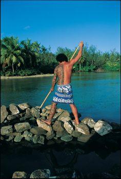 Tahitian Fisherman