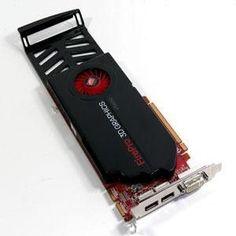 1GB HP ATI FirePro V5800 Graphics Adapter DDR5 PCI-Express x16 DVI 2x Displayports WL050AT