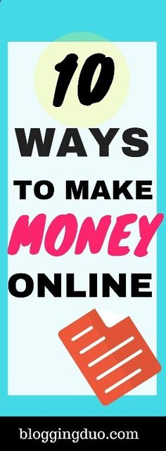 Copy Paste Earn Money - Here are the 10 Real ways to earn money online:[br]  1. Online advertising[br]  On the Internet, a smartly organized small business may get excellent results, often competing side by side… You're copy pasting anyway...Get paid for it.