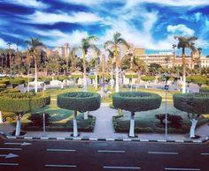 Cairo University, Marina Bay Sands, Dolores Park, Building, Travel, Viajes, Buildings, Destinations, Traveling