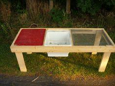 Garden Sink, Edible Garden, Vegetable Garden, Farm Gardens, Outdoor Gardens, Garden Projects, Garden Tools, Diy Jardin, Outdoor Sinks