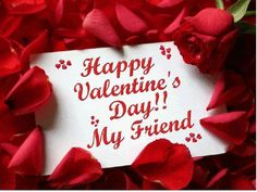 Happy valentines day all friend