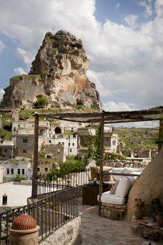 Hezen Cave hotel / Turkey